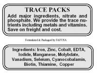 Micro Algae Glow Trace Pack